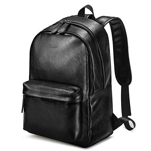 ff1b4b27846d6 Schwarze Lederrucksäcke - Die besten 20 schwarzen Rucksäcke aus Leder
