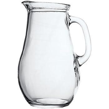 Pasabahce Bistro Glass Water Jug, 1.85 Litre, Transparent