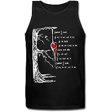 Three Days Grace Heart Men's T-Shirt Black Tank Top XXXX-L