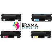 bramaca rtuchos–4X cartucce compatibili Non Oem ricambio per BROTHER tn336, ogni colore, DCP L8400CDN, DCP, DCP L8450CDW, DCP L8400, l8450HL l8250, l8350HL L8350cdw, HL, HL L8250CDN, MFC L8650CDW, MFC l8650MFC L8850CDW, MFC l8850, alta capaicdad -  Confronta prezzi e modelli