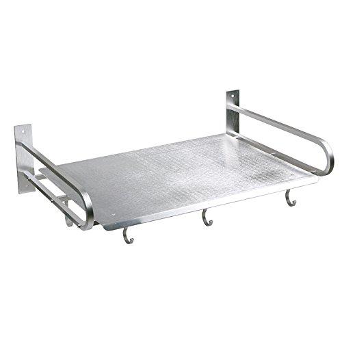 Mikrowelle Halter, Aluminium (robuste Wandmontage, Ausdauer von 80 kg, L60cm * W40cm * H16cm, einschließlich Befestigungsmaterial, Ofen-Halter