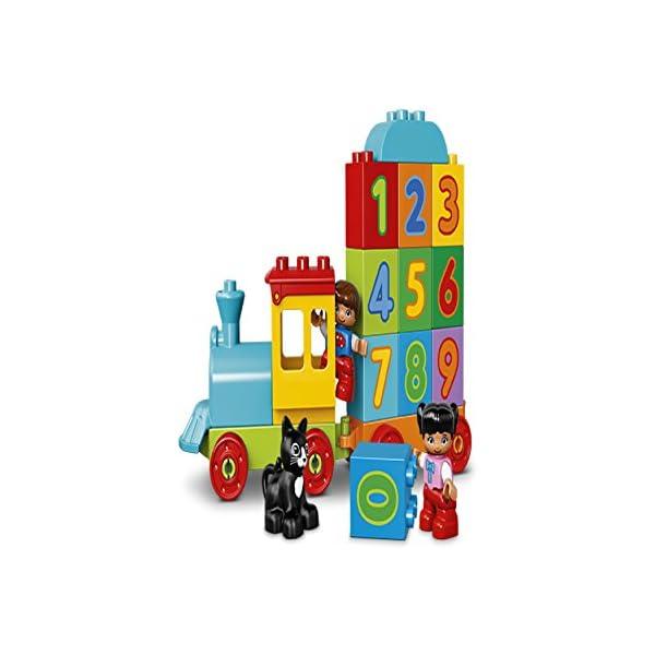 LEGO Duplo My First il Treno dei Numeri, per Iniziare a Contare Divertendosi con Questo Colorato Treno ed il Simpatico… 4 spesavip