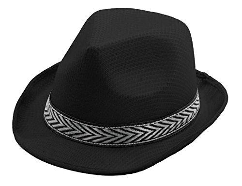 chapeau-panama-noir-taille-unique