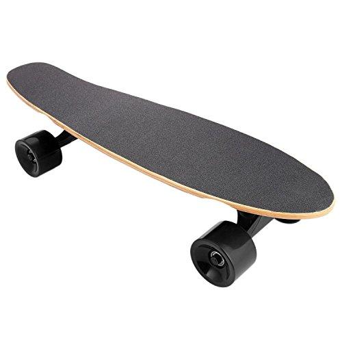 Lonlier Monopatín Eléctrico Penny Skateboard Longboard con Bluetooth Control Remoto Luz