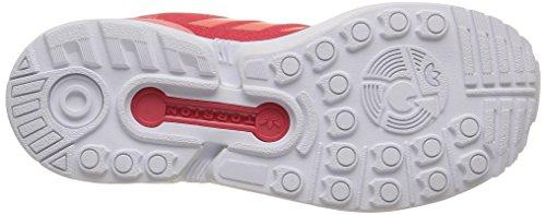 Adidas Zx Flux K, Chaussures Enfants, Garçon Joy S13 / Rose Pêche F15-st / Ftwr Blanc