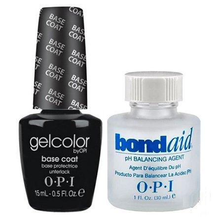 Vernis à ongles LED/UV OPI Gel Couleur BASE COAT 15ML + BOND AID PRIMER 30ML - 100% gel authenic - livraison gratuite
