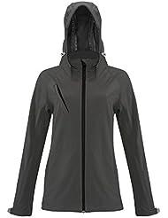 Chaqueta Softshell con capucha de mujer–340g/m²–Mujer