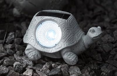 """Best Season 477-29 LED-Solarstein """"Schildkröte"""" von Best Season - Lampenhans.de"""
