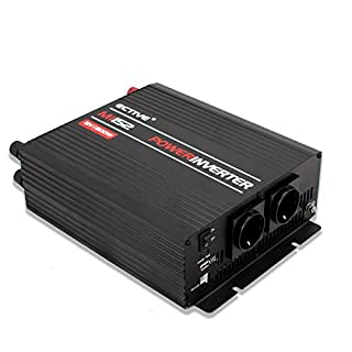 ECTIVE 1500W 24V zu 230V MI-Serie Wechselrichter mit modifizierter Sinuswelle in 7 Varianten: 300W - 3000W