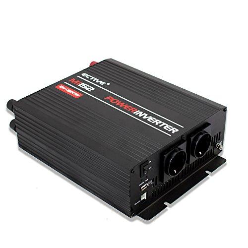 ECTIVE 1500W 12V zu 230V MI-Serie Wechselrichter mit modifizierter Sinuswelle in 7 Varianten: 300W - 3000W 1500w Power Inverter