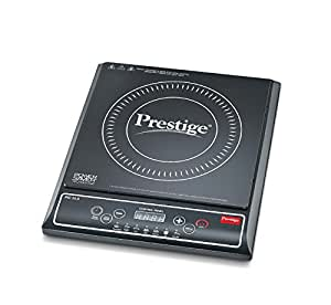 Prestige PIC 25 1200-Watt induction Cooktop (Black) with Push button