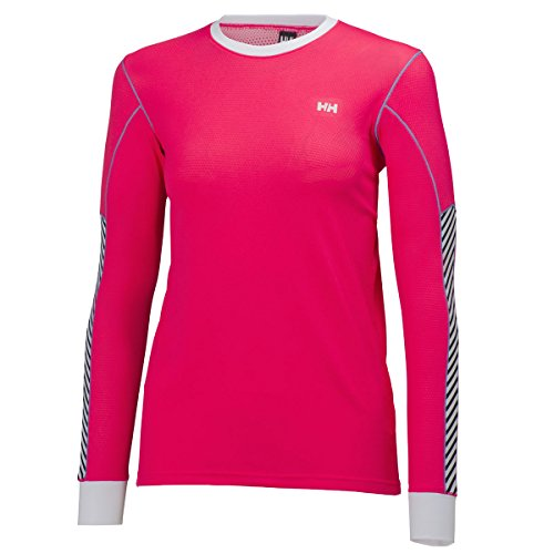 Helly Hansen W HH Active Flow LS–Sous-vêtements pour femme pink