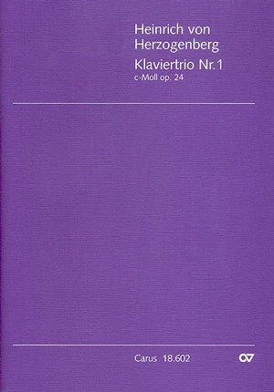 KLAVIERTRIO 1 C MOLL OP 24