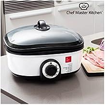 Chef Master Kitchen Quick Cooker Robot de Cocina con recetario y Accesorios, 7 programas de