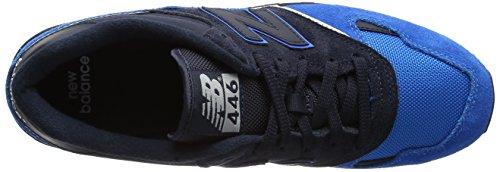 New Balance U446, Baskets Homme Bleu (Navy/bolt)