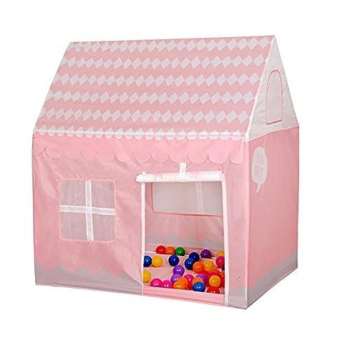 WGE Children'S Game House Zelt Ball Pool Indoor Outdoor Toy Zelt , Pink House Account