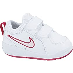 Nike - 454478 - Chaussures - Fille - Blanc (White/Prism Pink-Spark 103) - 26 EU