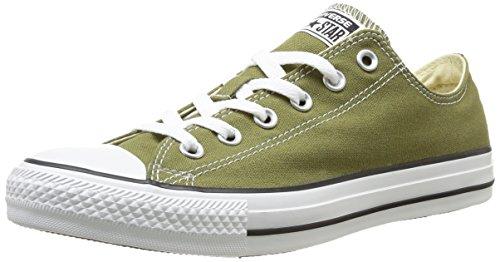 Converse, All Star OX Canvas Seasonal, Sneaker, Unisex - adulto verde (Grün (6 VERT CACTUS))