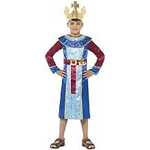 Smiffys Smiffys-48205M Disfraz de Rey del belén, Traje con Aplique de lingote de