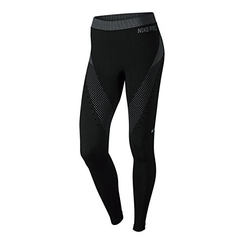 Nike Pro HC Limitless Tight - Legging pour femme Negro / Gris (Black/Wolf Grey/Wolf Grey)