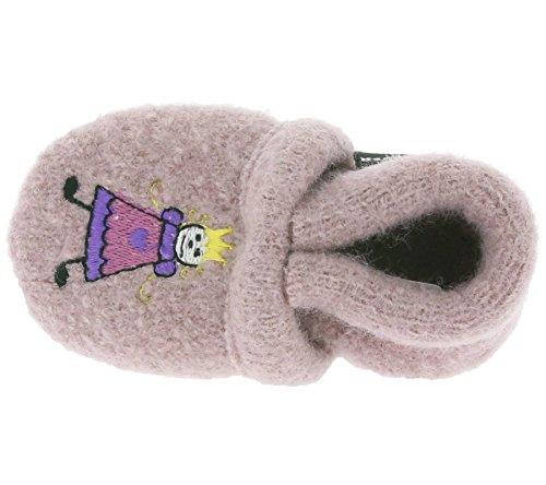 Haflinger 654042 Baby-Hausschuhe Prinzessin, rosenholz Violett