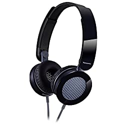 Panasonic Clear & Powerful Sound Stereo Headphones (Black)