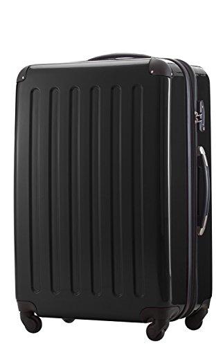 Capitale Valises ALEX 119 L Noir avec Serrure TSA avec trousse