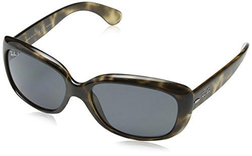 Ray-Ban RAYBAN Damen Sonnenbrille 4101 Havana Grey/Greygradientbrownpolar, 58