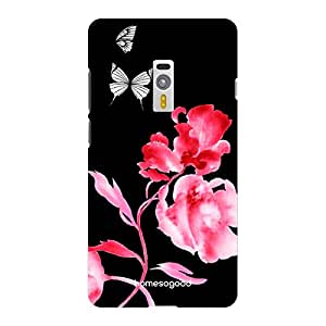 HomeSoGood Beautiful Life Black Floral 3D Mobile Case For OnePlus 2 (Back Cover)