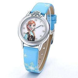Armbanduhr für Mädchen Die Eiskönigin ELSA und Anna Frozen
