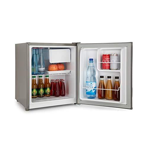Klarstein Snoopy Eco • Mini réfrigérateur avec congélateur • Capacité de 46L • Compartiment congélateur 4L • 41dB • Économe en électricité • gris