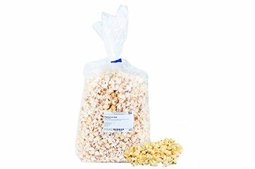 Popcorn-Tüte, Salz, herzhaft frisches und leckeres Popcorn leicht gesalzen, ohne künstliche Zusätze, in der 500g Tüte