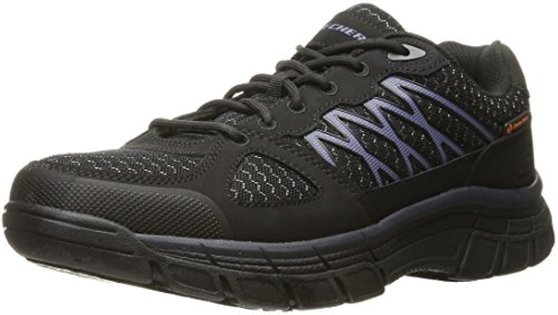 Skechers for Work Men's Conroe Dierks Work Shoe  Black  8.5 M US