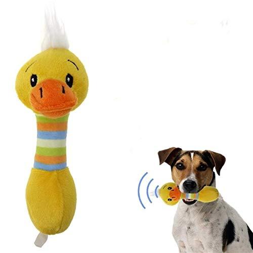 Lustige Hundespielzeug ausgestopften Hund Nachhaltigkeit kauen Katzenspielzeug Quietschen Geräusche gemacht Lovely Pet Spielzeug Hund Plüschtier Ente Schwein Hirsch ( Color : 3 , Size : One size )