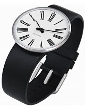 Rosendahl Unisex-Armbanduhr Analog Edelstahl weiss 43442