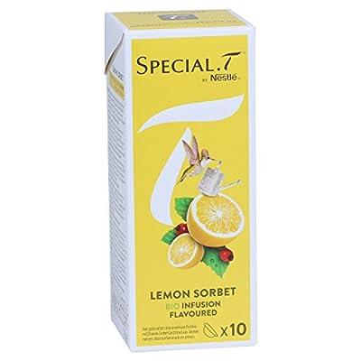 SPECIAL.T by Nestlé Infusion Biologique au Citron Granité Citron 10 capsules