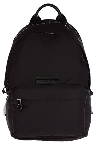MCQ Alexander McQueen mochila bolso de hombre en Nylon nuevo negro