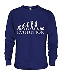 Candymix - Scottish Terrier Evolution Of Man - Unisex Sweatshirt Mens Ladies Sweater Jumper Top