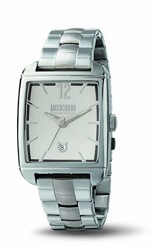 Moschino - MW0107 - Montre Homme - Quartz - Analogique - Bracelet Acier Inoxydable Argent