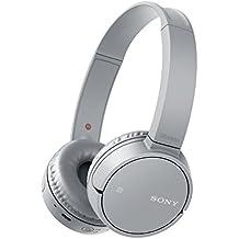 Sony MDRZX220BTH.CE7 - Auriculares plegables de diadema cerrados con Bluetooth (manos libres para Apple iPhone y Android, NFC, LDAC, autonomía de 8 h), color gris