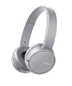 Sony MDR-ZX220BT Cuffie Bluetooth, Driver da 30 mm, NFC, Grigio