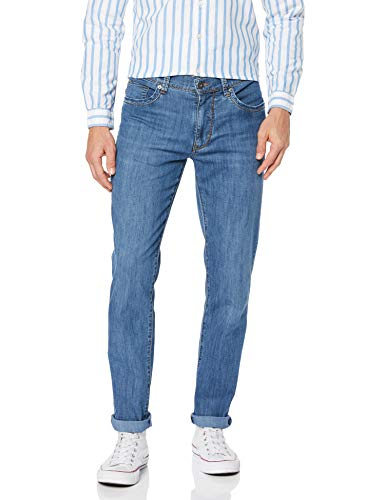 Brax Herren Ultralight Denim Straight Jeans, Blau (Mid Blue Used 24), 38W / 32L