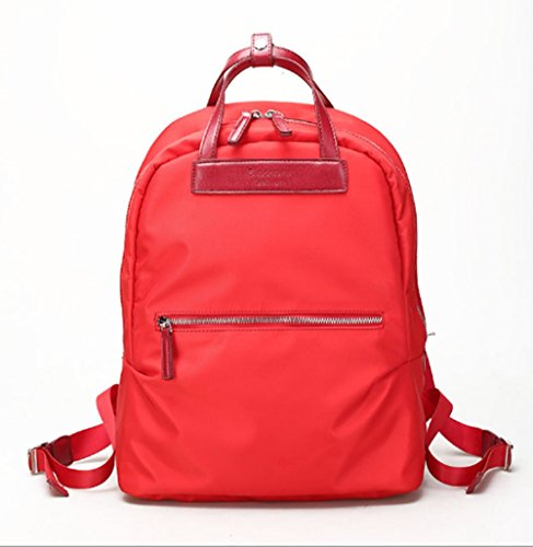 Swallowuk Student Mode Leinwand Schulrucksäcke Outdoor Reisen Schüler Rucksäcke rote
