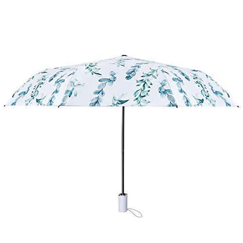 Jpp ombrellone pieghevole ombrello parasole solare antipioggia