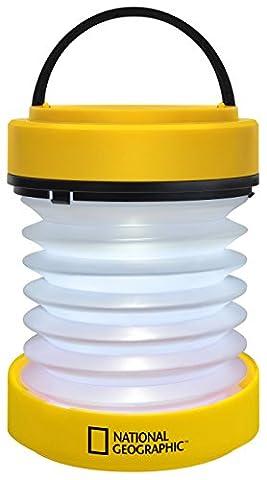 National Geographic LED-Laterne mit Taschenlampenfunktion und integriertem Dynamo (National Geographic Für Kinder)