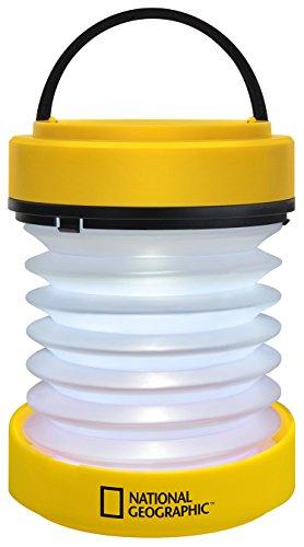 National Geographic Lanterne à LED avec fonction de lampe torche (à piles)