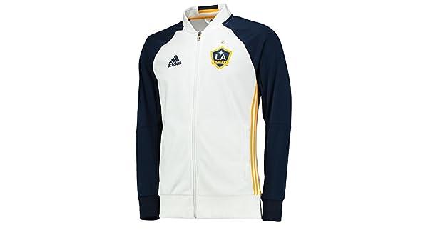 adidas Herren Fussball LA Galaxy Anthem Trainingsjacke