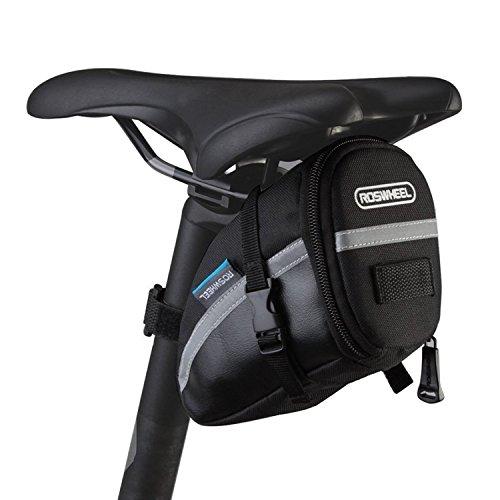 E-Goal ROSWHEEL 1.2L Fahrrad Satteltasche Rücksitz Pack Tasche Lagerung Hecktasche Radfahren Fahrrad Hinten Pannier für Outdoor Radfahren Berg