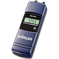 Wöhler 7243 DM 2000 manometro differenziale déprimomètre mbar - Manometro Differenziale