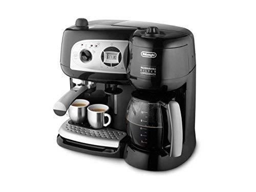De'Longhi BCO264.1 Espressomaschine und Kaffeemaschine in einem, mit Pumpe, Schwarz, 38x 24x 35cm